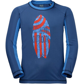 Jack Wolfskin Shoreline T-shirt manches longues Enfant, ocean wave